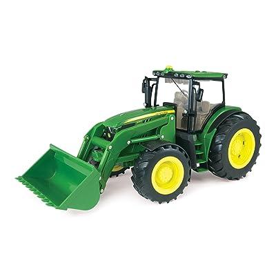 Ertl Big Deere 1:16 6210R Tractor With Loader: Toys & Games