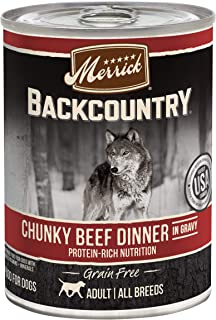 product image for Merrick Backcountry Grain Free Canned Wet Dog Food (Case of 12)