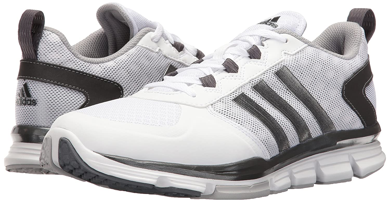 reputable site 4b9e6 d6793 adidas Originals Hombre Freak X Carbon Mid Cross Trainer Blanco   Carbon  Met.