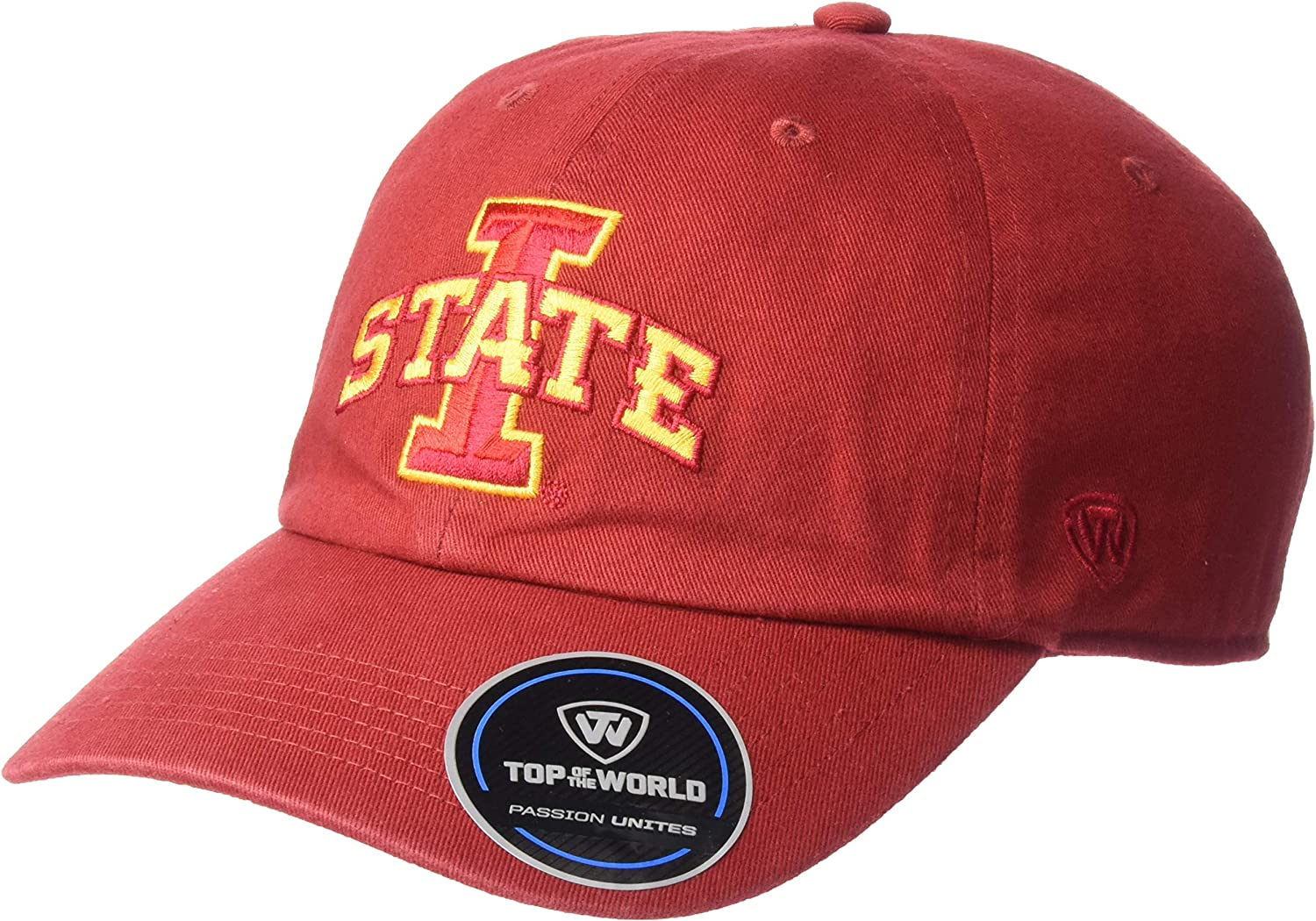 Top of the World NCAA Mens Hat Adjustable Relaxed Fit Team Icon
