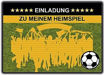 Fussball Einladungskarten Kindergeburtstag Einladung Jungen Kinder