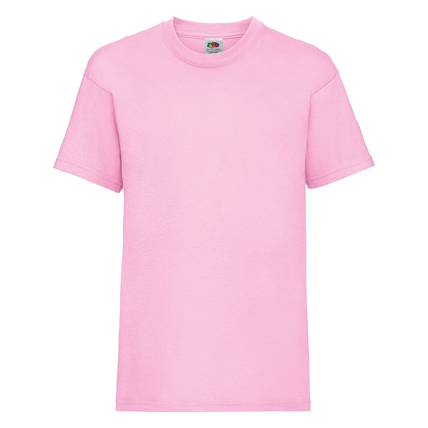 20db5d2a1 Cotton, , Short sleeve crew neck childrens T-Shirt. Cotton/Lycra rib crew  neck with taped neckline. Produced using Belcoro yarn for a softer feel and  ...