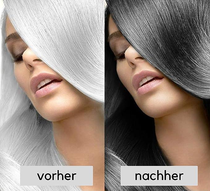 Champú de cabello negro Well4u, contra las canas, champú negro para cubrir las canas. ¿Tu color natural es negro? ¿Quieres recuperar tu color de pelo ...