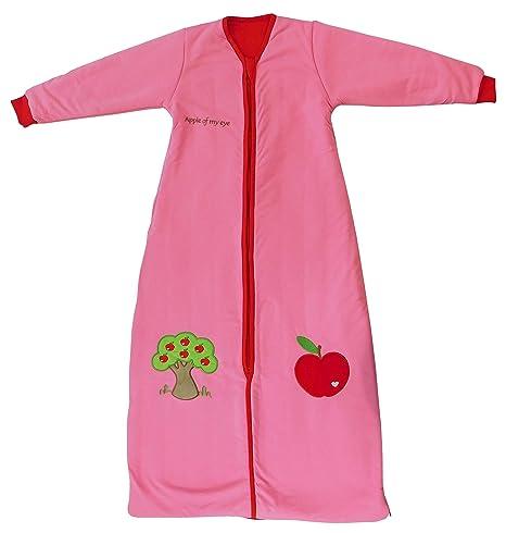 Saco de repetición Invierno – Saco de dormir para bebé en color rosa para niña,