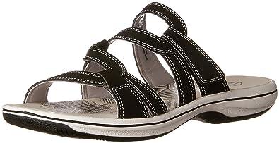 fbaba2515 CLARKS Women s Brinkley Lonna Slide Sandal