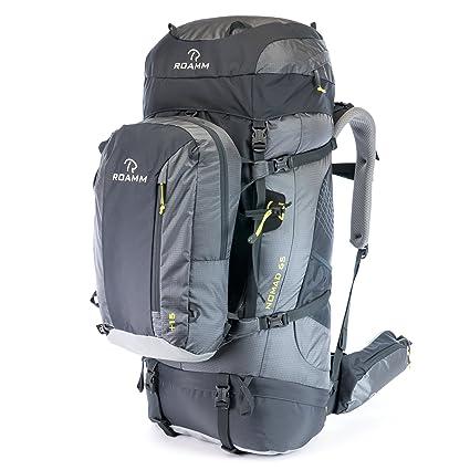 1b0683cfbc0c Roamm Nomad 65 +15 Backpack - 80L Liter Internal Frame Pack with Detachable  Daypack -
