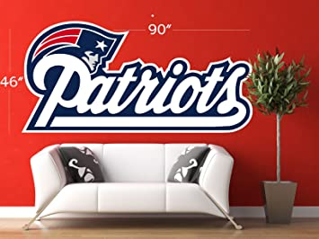 Patriots decal NFL logo decal Patriots NFL decal New England large decal  sc 1 st  Amazon.com & Amazon.com: Patriots decal NFL logo decal Patriots NFL decal New ...