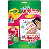 Crayola Dry Erase Travel Pack, Pink, Travel Case,  School and Craft Supplies, Gift for Boys and Girls, Kids, Ages 5, 6,7,8  and Up,  Arts and Crafts