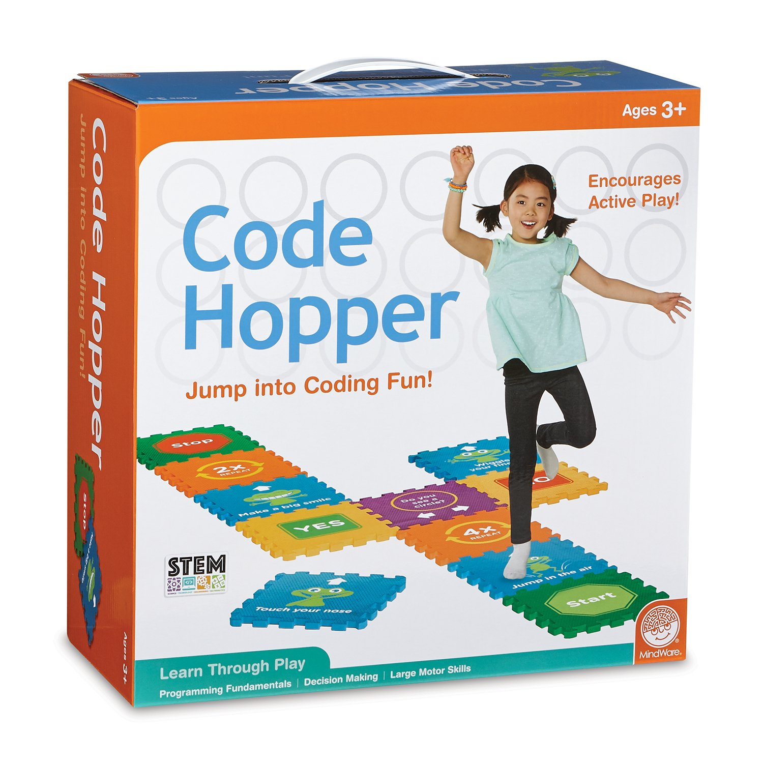 Code Hopper- Computer Coding Fun! Active Game for Preschoolers