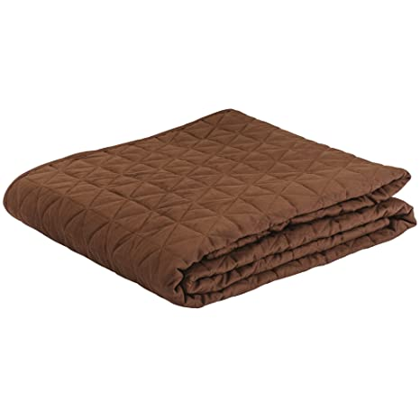 67c1c6c91a Amazon.com  EARTHLITE Premium Quilted Blanket – Extra Soft ...