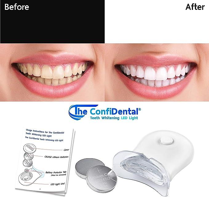 Amazon Com The Confidental Teeth Whitening Accelerator Led Light