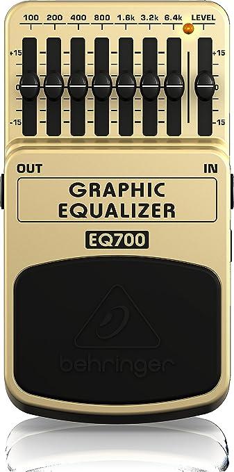 16 opinioni per Behringer Graphic Equalizer EQ700- Equalizzatore grafico a 7 bande