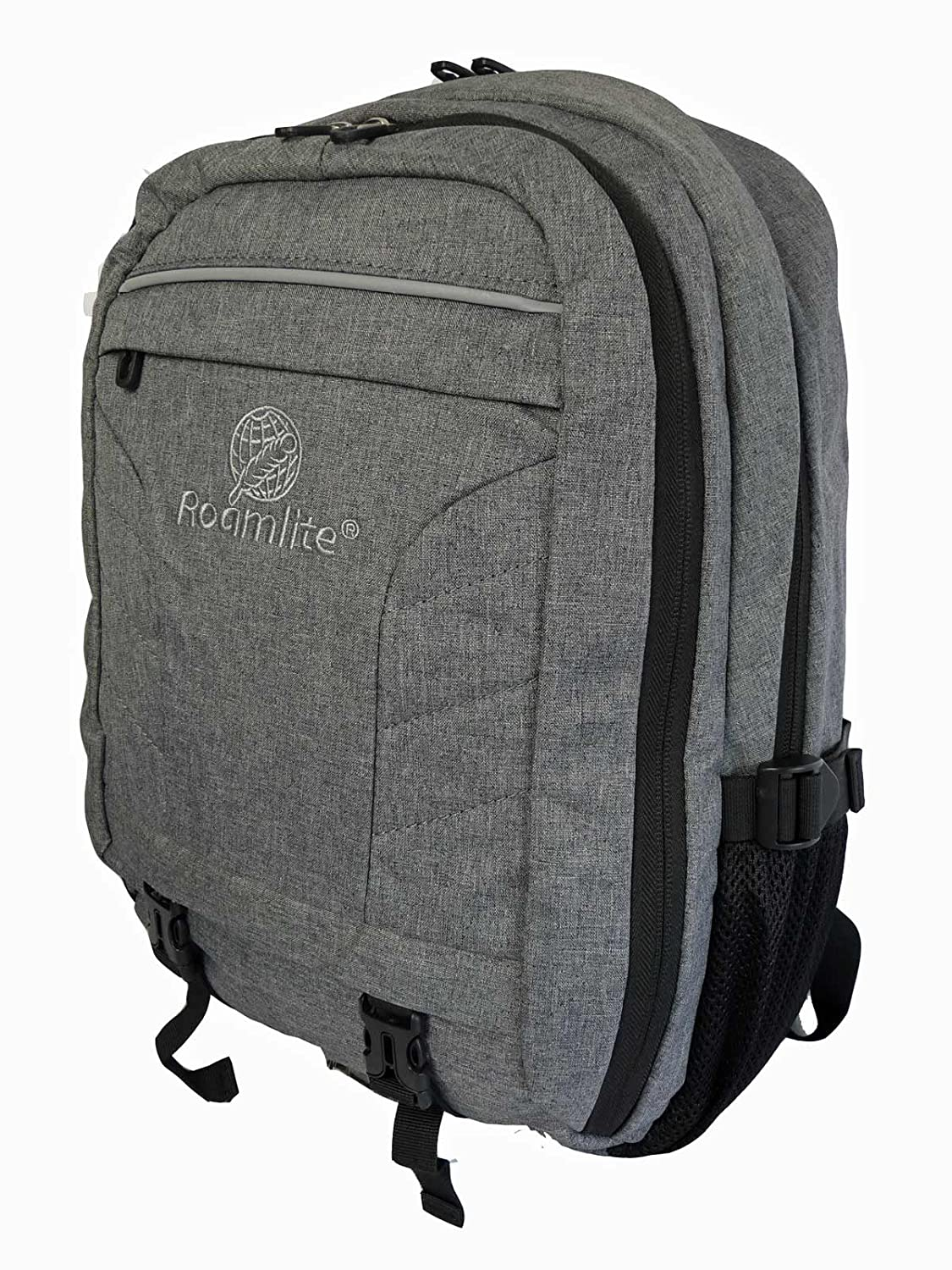 25274e13e Roamlite Laptop Backpack - Padded Sleeve Fits up to 15.6 inch Notebook  Screens - 25 Litre - Roamlite RL45GY Grey: Amazon.co.uk: Luggage