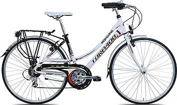 TORPADO Bicicleta City Turismo Rondine 28 Mujer 3 x 7 V Talla 52 ...