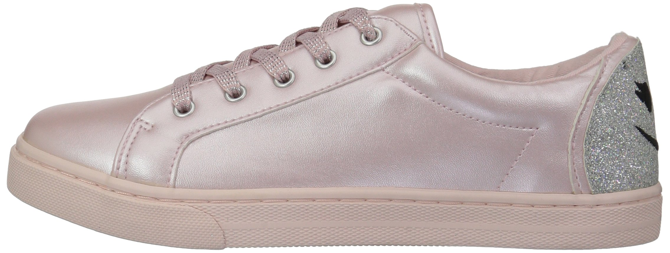 The Children's Place Girls' BG Emoji Sneaker, Pink, Youth 4 Medium US Big Kid by The Children's Place (Image #5)
