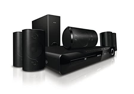 philips hts3510 home theatre system 5 1 channel amazon co uk rh amazon co uk Philips Home Theater System Setup Philips Wireless Home Theater System