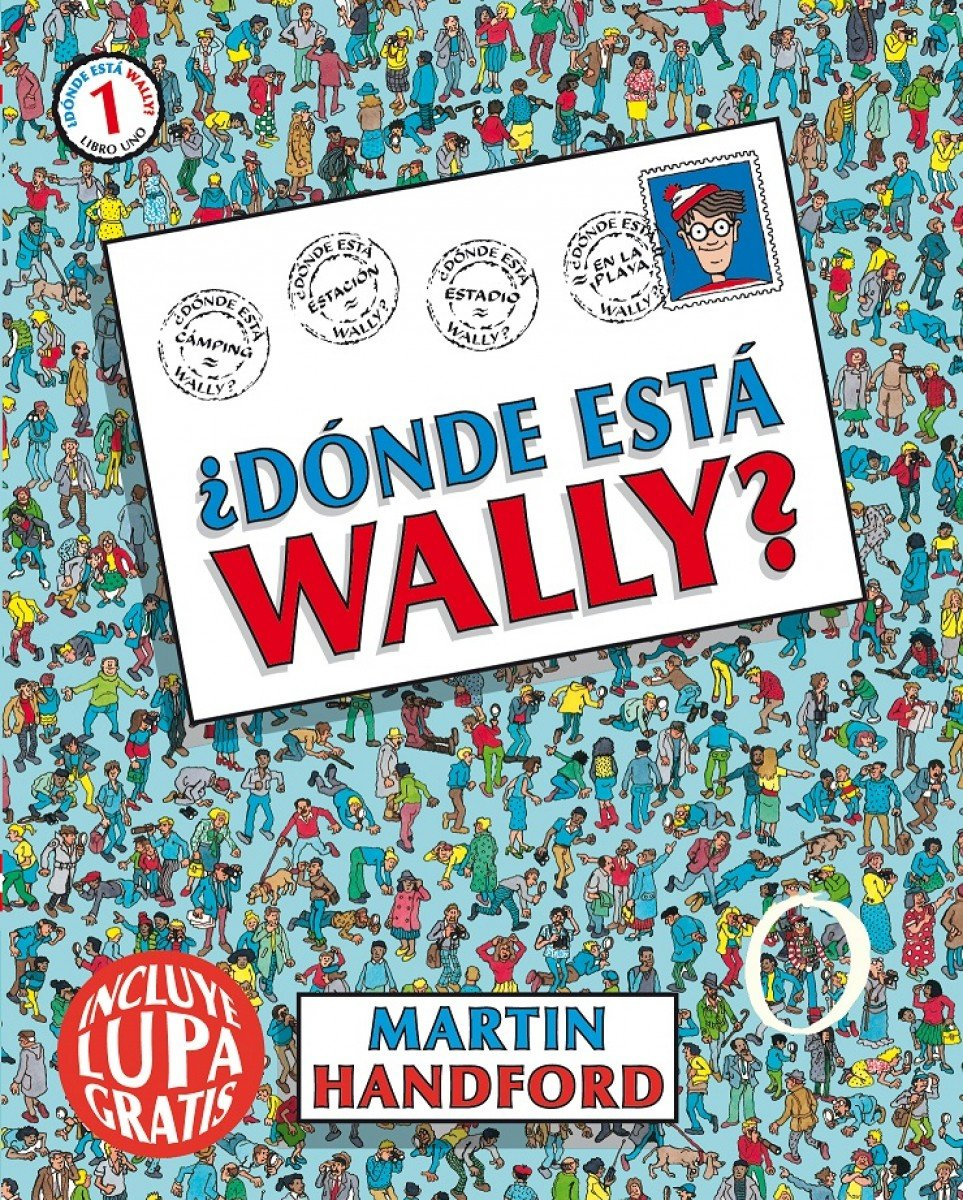 ¿Dónde está Wally? (Colección ¿Dónde está Wally?): (incluye lupa gratis) por Martin Handford