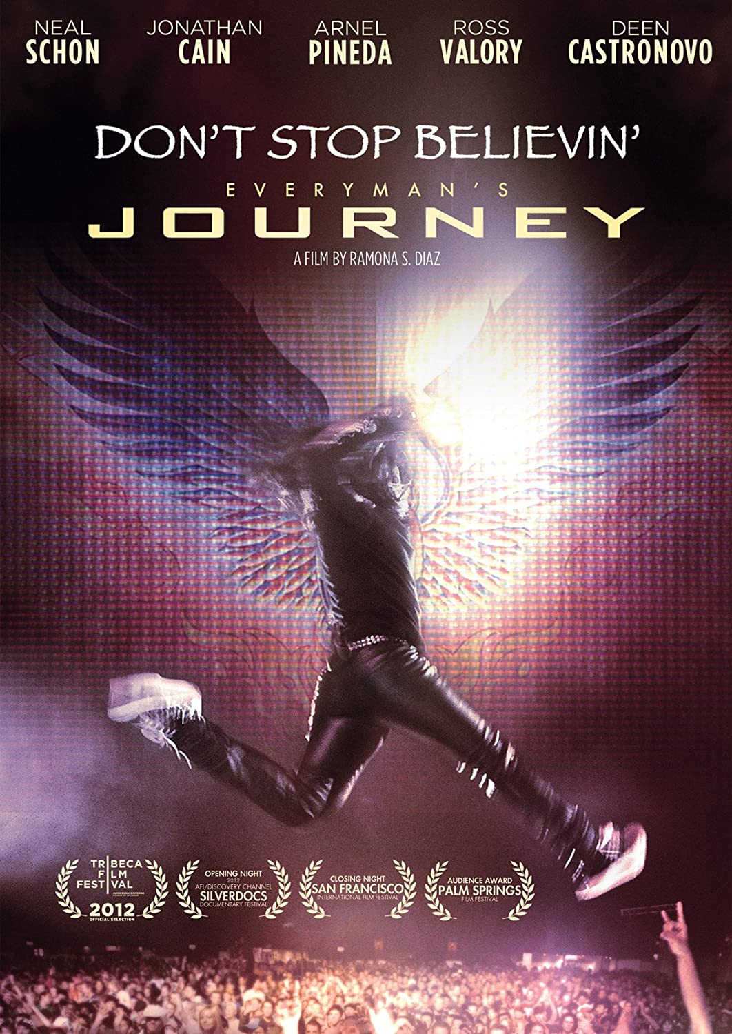 amazon com dont stop believin everyman s journey neal schon amazon com dont stop believin everyman s journey neal schon jonathan cain ross valory deen castronovo arnel pineda ramona s diaz movies tv