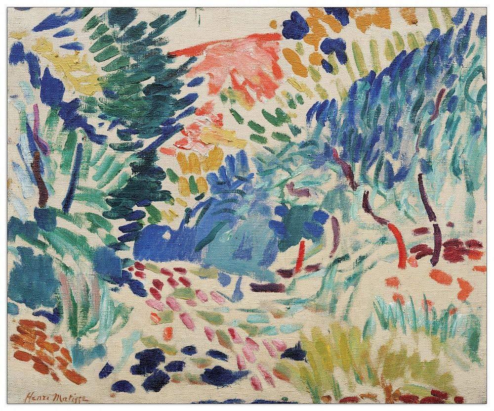 Landscape At Collioure Dekorative Paneele Artopweb TW20 Matisse ...