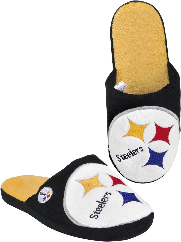 Pittsburgh Steelers 2011 Big Logo Men Slipper Tpr Sole  Extra Large