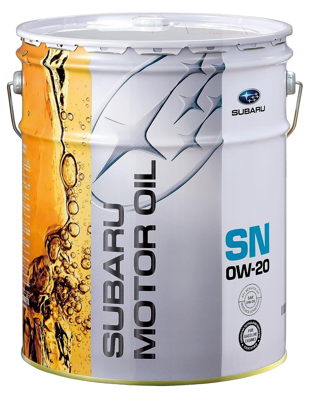 SUBARU [ スバル ] MOTOR OIL [ モーターオイル ] 0W20 [ SN ] 化学合成油 [ 20L ] B00G0P7RIM