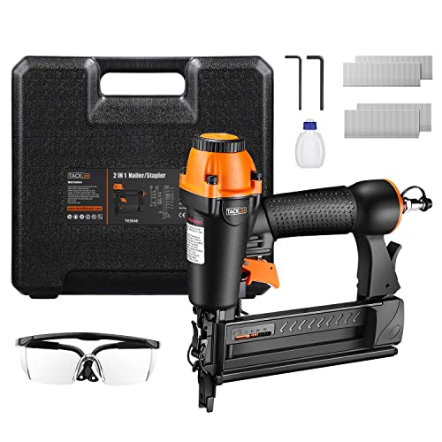 TACKLIFE 18GA 2-in-1 Pneumatic Nailer