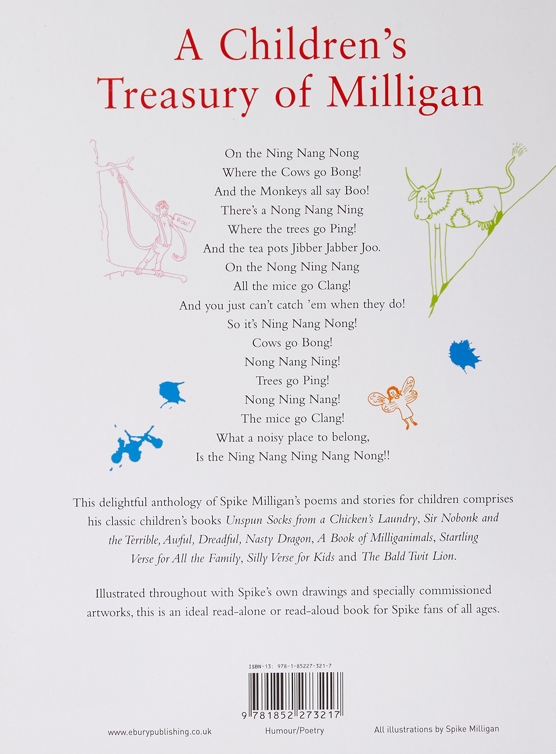 A Children's Treasury of Milligan Classic Stories and Poems by Spike Milligan Synopsis