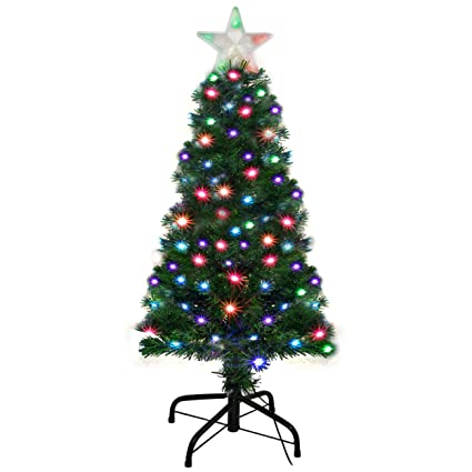 Holiday Essence Pre Lit Christmas Tree 4 Ft - Artificial Xmas Tree with Prelit  LED Multi - Amazon.com: Holiday Essence Pre Lit Christmas Tree 4 Ft - Artificial