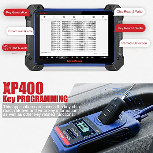 Remote frequencies are also easy to detect thanks to the myriad capabilities of the Autel IM608.