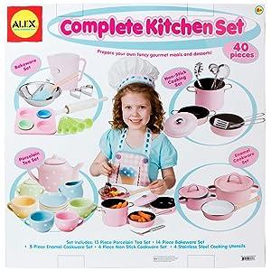 Alex Pretend Complete Kitchen Set