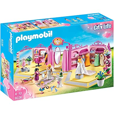 PLAYMOBIL Bridal Shop Building Set: Toys & Games