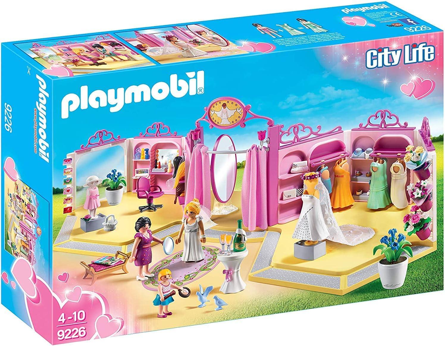 PLAYMOBIL City Life Tienda de Novias, A partir de 4 Años (9226)