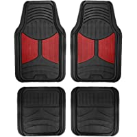 Deals on FH Group F11313BURGUNDY Rubber Floor Mat