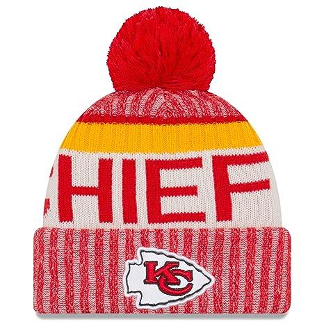 Amazon.com   New Era Kansas City Chiefs NFL Sideline On Field 2017 ... 6f0e3439da3