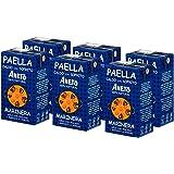 Aneto 100% Natural - Caldo para Paella de Pescado y Marisco - caja de 6 unidades de 1 litro