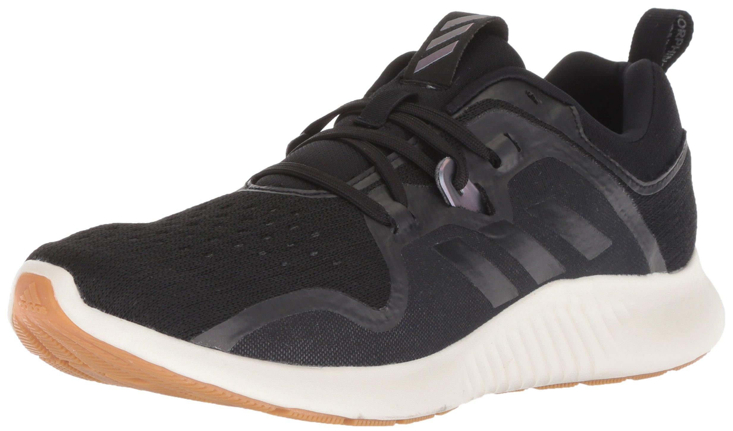 adidas Women's Edgebounce Running Shoe Black/Night Metallic, 5.5 M US by adidas (Image #1)