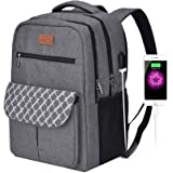Backpacks for College Students, Backpacks for High School ,Laptop Backpack Water Resistant Computer Bag with Usb Charging Por