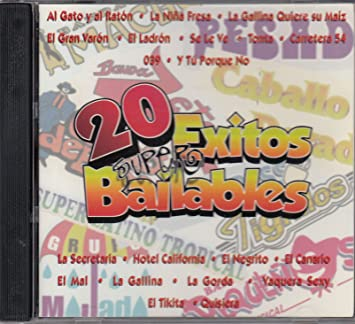 Gilberto Abrego, Felipe Barrientos, Tony Lucio, Rodolfo Olivares, Gregorio Hernandez Lopez Gali - 20 Super Exitos Bailables: Varios Artistas - Amazon.com ...