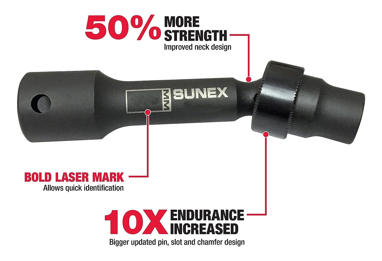 Sunex 218zudl 1//2-Inch Drive 9//16-Inch 12-Point Driveline Socket Sunex International