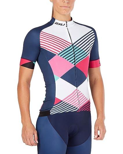 d826860b4 Amazon.com  2XU Womens Sub Cycle Jersey  Clothing