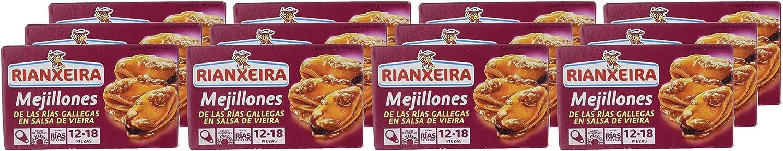 Rianxeira, Conserva de mejillones en salsa de vieira - 12 de 111 ...