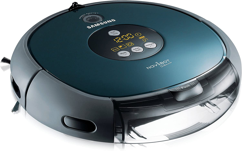 Samsung Navibot Silencio - Robot aspirador, 60 dB, color azul ...