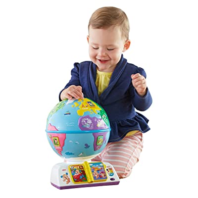 Fisher-Price Laugh & Learn Greetings Globe: Toys & Games