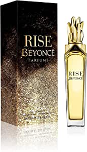 Beyonce Rise Eau de Parfums Spray for Women, 100ml, Black (32992325000)