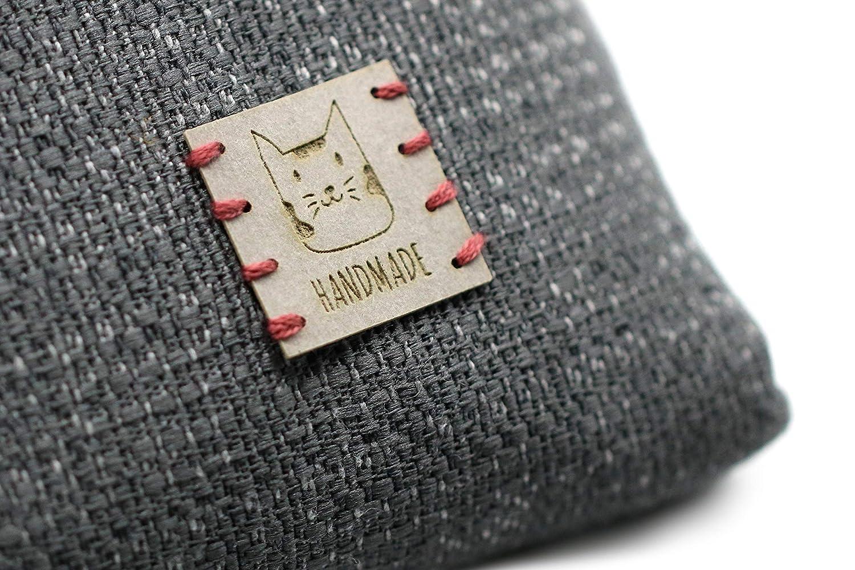 3DP Vegan Leather | Etiquetas HMH02 Handmade | 15 Piezas ...
