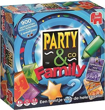 Party & Co. Family Niños y Adultos Juegos de Preguntas - Juego de ...