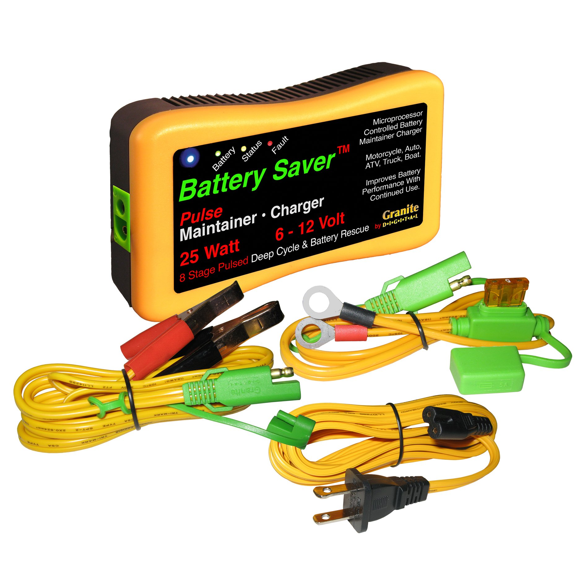Save A Battery 3015 12 Volt/25 Watt Battery Saver/Maintainer and Battery Rescue by Battery Saver (Image #1)