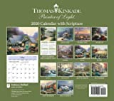 Thomas Kinkade Painter of Light with Scripture 2020 Deluxe Wall Calendar