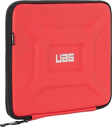 Urban Armor Gear Estuche Universal de protección portátiles y tabletas para Apple iPad Pro 12.9 / MacBook Pro, Microsoft Surface Pro/Book/Laptop (hasta 13, Manga con Bolsillo de Malla) Rojo: Amazon.es: Informática