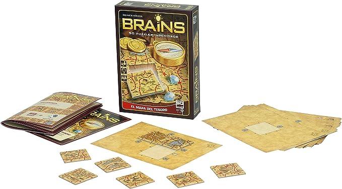 SD Games- Brains Mapa del Tesoro (SDGBRAINS02): Knizia Reiner: Amazon.es: Juguetes y juegos